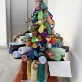 συμμετοχη Χριστουγεννιατικου δεντρου σε διαγωνισμο ανακυκλωσης